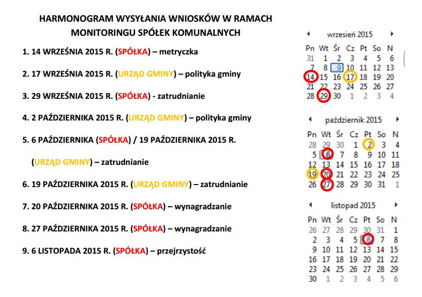 57fd007e163ec7 W sprawie ZIM w Mikołowie Artur Wnuk, przeprowadzający monitoring, otrzymał  już odpowiedź na skargę od spółki. ZIM wskazuje, że odpowiadanie na wnioski  o ...
