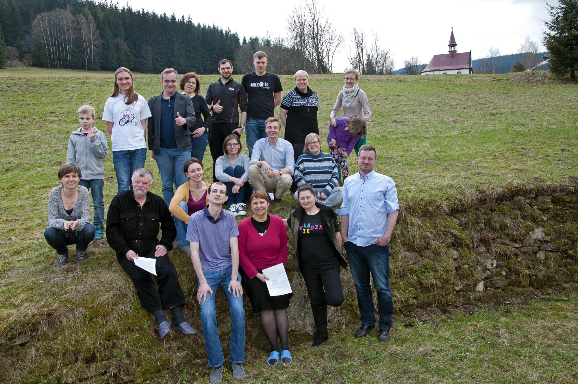 Grupa edukatorów SOWP w Siennej