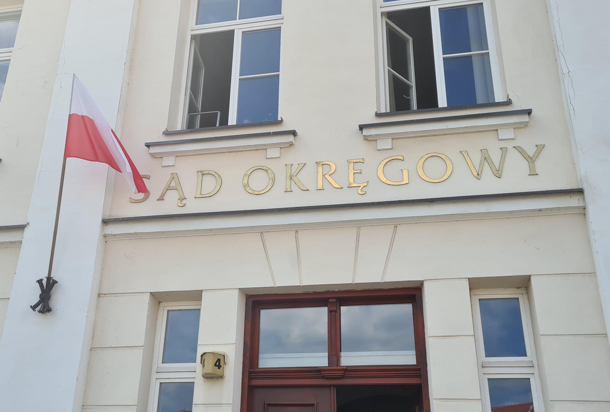 Sąd Okręgowy w Płocku budynek fot. Marzena Błaszczyk